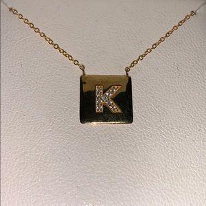 K necklace